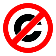 Anti-copyright symbol